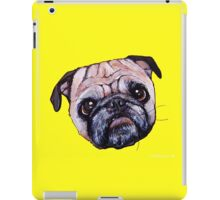 Butch the Pug - Yellow iPad Case/Skin
