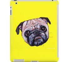 Butch the Pug - Yellow iPad Case/Skin