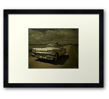 Old Cotton Field Road  Framed Print