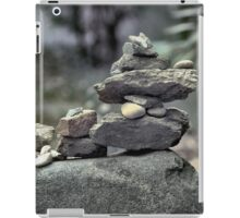 Stack of Rocks on the Trail (HDR) iPad Case/Skin