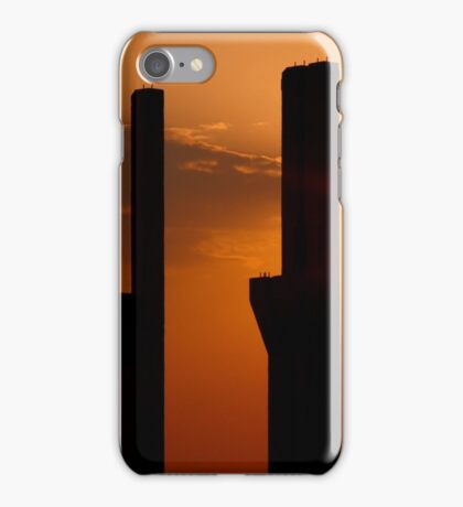 Pillars at sunset with a stark iPhone Case/Skin
