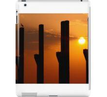 Pillars at sunset with a stark iPad Case/Skin