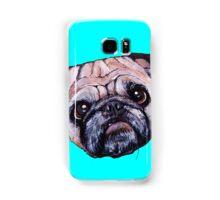 Butch the Pug - Cyan Samsung Galaxy Case/Skin