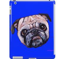 Butch the Pug - Blue iPad Case/Skin