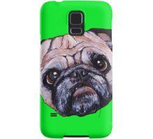 Butch the Pug - Green Samsung Galaxy Case/Skin