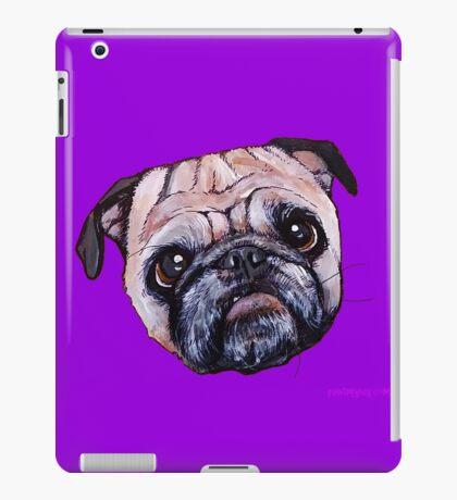 Butch the Pug - Purple iPad Case/Skin
