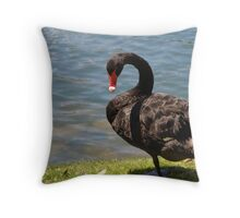 Back off mister! Throw Pillow