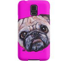 Butch the Pug - Pink Samsung Galaxy Case/Skin