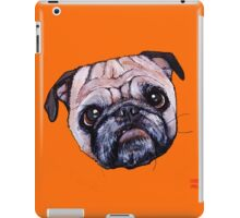 Butch the Pug - Orange iPad Case/Skin