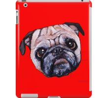 Butch the Pug - Red iPad Case/Skin