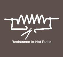 'Resistance Is Not Futile' - T Shirt Kids Clothes