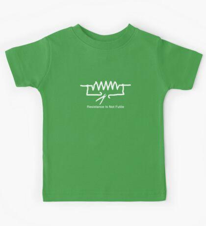 'Resistance Is Not Futile' - T Shirt Kids Tee