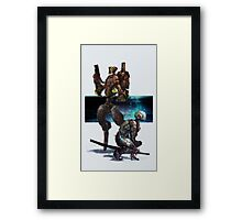 Hunter-Killer Robotics I Framed Print