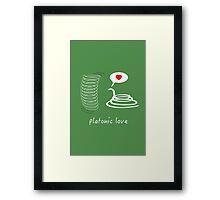 platonic love Framed Print