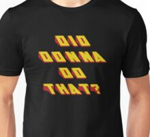 DONNA - Did it Design Unisex T-Shirt