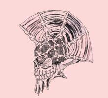 Punk Skull - plain Kids Tee