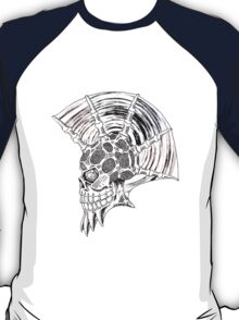 Punk Skull - plain T-Shirt