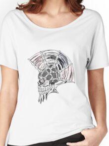 Punk Skull - plain Women's Relaxed Fit T-Shirt