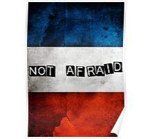 NOT AFRAID Poster