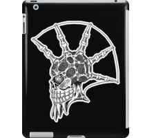 Punk Skull - bordered iPad Case/Skin