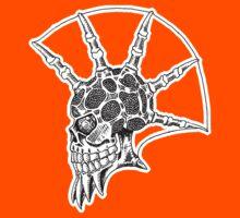 Punk Skull - bordered Kids Clothes