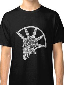 Punk Skull - bordered Classic T-Shirt