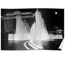 Flowing Fountains Poster