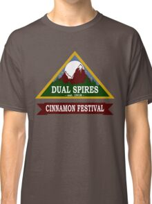 Dual Spires - Psych Classic T-Shirt