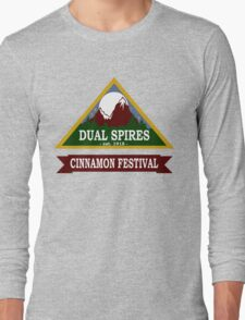 Dual Spires - Psych Long Sleeve T-Shirt