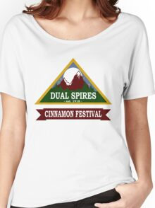 Dual Spires - Psych Women's Relaxed Fit T-Shirt
