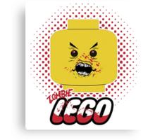 Lego Zombie Canvas Print