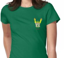 Happy Vibes Womens Fitted T-Shirt