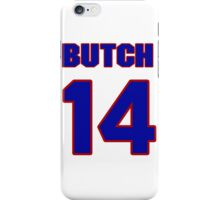National Hockey player Butch Paul jersey 14 iPhone Case/Skin