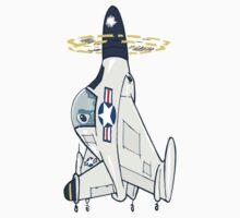 Convair XFY-1 'POGO' by johnkratovil