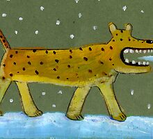 Snow leopard by David Barneda