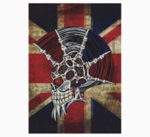 Union Jack Punk Skull Kids Tee