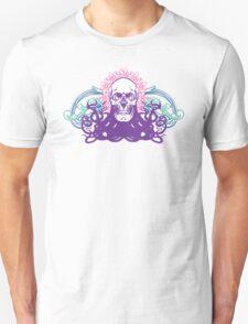 Skull octopus print T-Shirt
