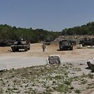 Panorama of a Tank Shooting Range by Christian Eccleston