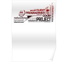 Programmer : Typography Programming - 2 Poster