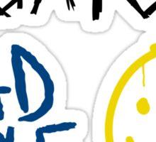 SuperWhoLock Graffiti Sticker
