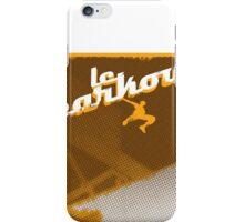 Parkour print iPhone Case/Skin