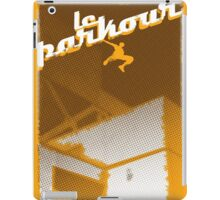 Parkour print iPad Case/Skin