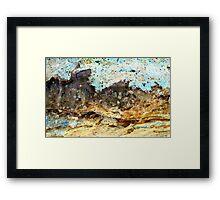 Hanging Rock Framed Print