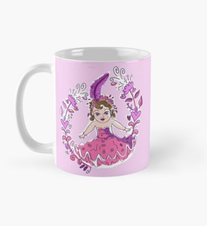 Pretty little kewpie show girl Mug