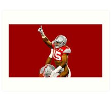 Zeke Elliott - Champ Pose Art Print