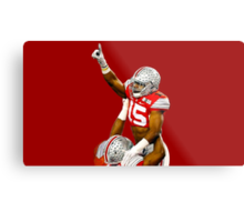 Zeke Elliott - Champ Pose Metal Print