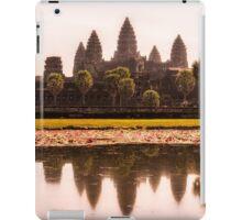 Angkor Wat reflections iPad Case/Skin