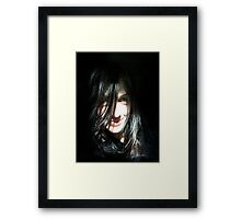 amusing thoughts... Framed Print