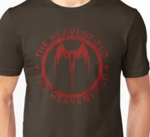 Heavenfield Fallen Angel Logo - Red Unisex T-Shirt