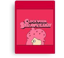 Clockwork Strawberry Canvas Print